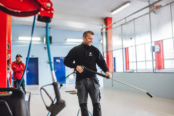 〈ノルウェー〉洗車場がオープン!