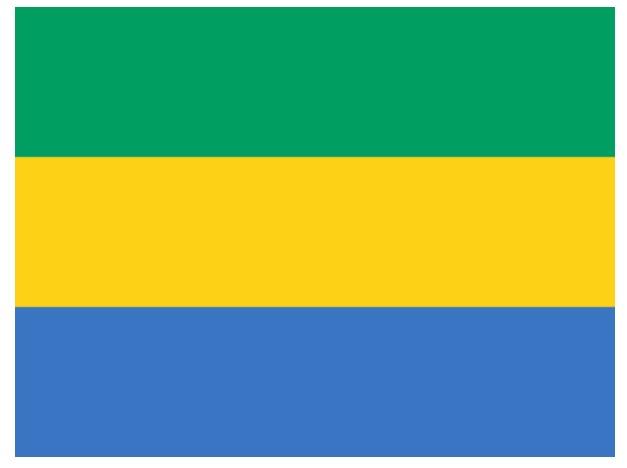 ガボン共和国の国旗